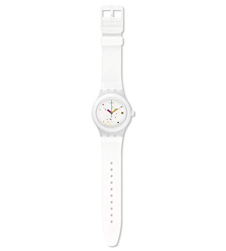 Swatch Orologio Digitale Automatico Uomo con Cinturino in Silicone SUTW400