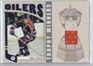 Paul Coffey #/70 (Hockey Card) 2004-05 In the Game Franchises Canadian Edition - Trophy Winners Memorabilia - Silver #TW-06