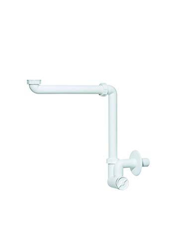 Siphon- Waschtisch- Möbel- Raumsparsiphon- f. Waschtische- extrem raumsparend- 1 1/4 Zoll x 32 mm