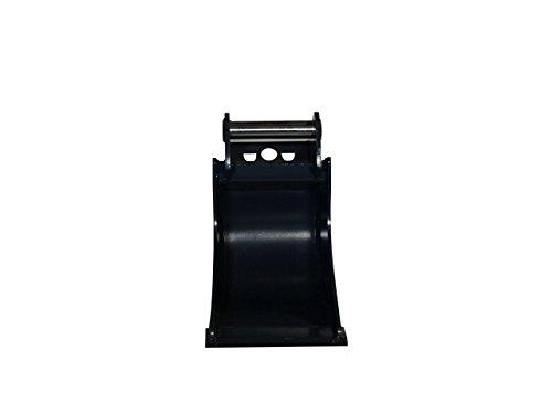 Terrablade ST- Kabellöffel 300mm breit bis 2.2t mit Schnellwechselaufnahme MS01, Schneidleiste aus Hardox/Baggerschaufel, Baggerlöffel