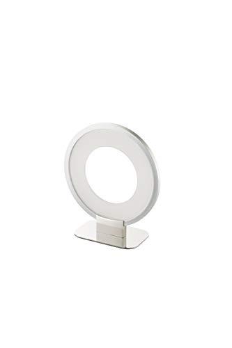 WOFI Tischlampe LED Lee chrom