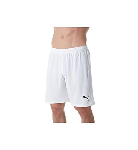 Puma Liga - Pantaloncini da uomo - Bianco - M