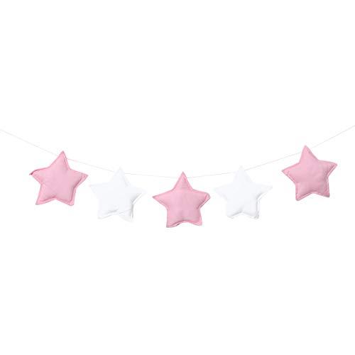 Amosfun Star string banner guirlande d'europe du nord style pendaison décoration lit bébé chambre