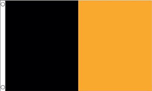 Flag Wholesaler County Flagge, Black/Amber Irish, S