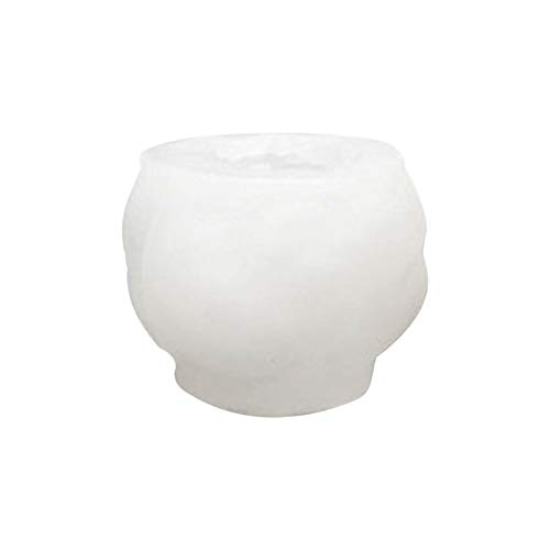 GJCrafts Molde de vela de silicona con forma de bola de lana, molde de resina de arcilla, molde de jabón hecho a mano, molde de repostería, para vela, jabón, chocolate