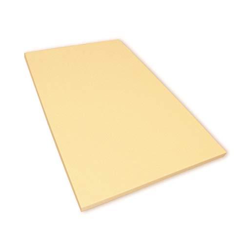 Viscoelastische Matratzenauflage 4 cm Visco Matratzen - Auflage ohne Bezug Größe 140x200
