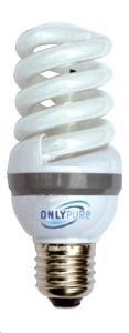 Elecolight Ampoule ionisante spectre complet 15-25 watts E27 gros culot à vis