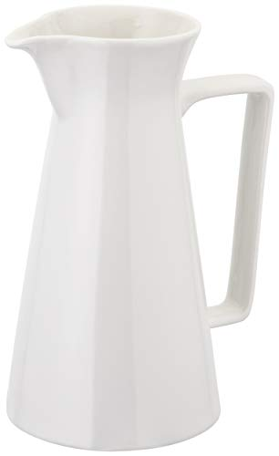 (600ml) - Judge Essentials Porcelain Serving Jug Flower Vase Wedding Decoration (600ml)