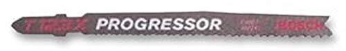 Bosch Pro Stichsägeblatt Progressor for Metal zum Sägen in Metall (5 Stück, T 123 XF)