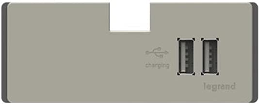 Legrand Adorne Apusb2tm4 Usb Outlet Module For Use In The Under