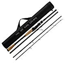 SeaKnight Yasha Casting & Spinning Fishing Rods Portable Travel 4 Sections Rod Lightweight Carbon Fiber Fishing Pole Salt/Fresh Water Medium Power Smooth Guides 7ft-9ft