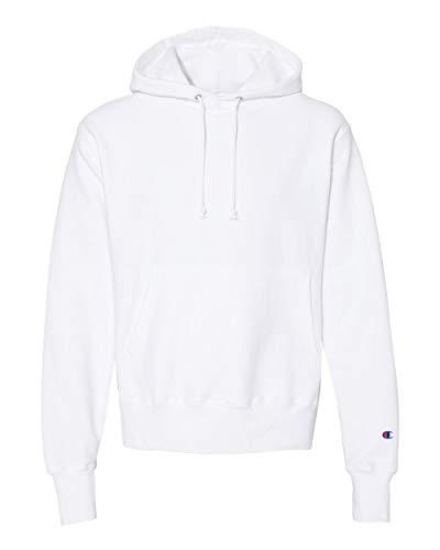 Champion - Reverse Weave Hooded Sweatshirt - S101 - L - White