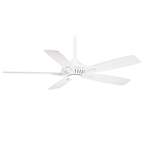"""Minka-Aire F1000-WH, Dyno, 52"""" Ceiling Fan, White with Additional Wall Control"""
