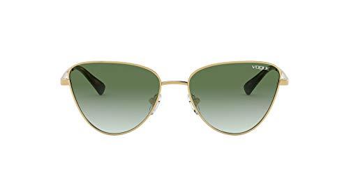 Vogue dames zonnebril 4145SB 280/8E Gold Phantos lenzen groen Smoke