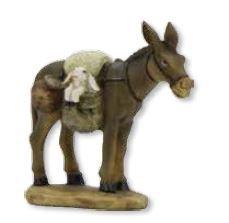 Esel mit Schaf für 11cm Figuren