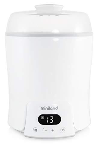 Miniland flessenwarmer, sterilisator en stoomkoker 6 in 1- Super 6