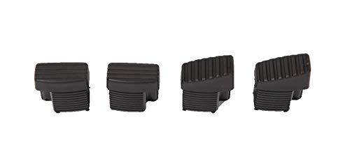 MWH 875029 Original Fußkappen Set 40x22mm für Stapelsessel Futosa und Elements Ersatzstopfen