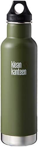 Klean Kanteen Classic - Borraccia termica a doppia parete, in acciaio INOX, con tappo ad anello, 567 g, colore: pino fresco