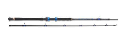 Aquantic Power Boat II, Meeresrutein Zwei Längen und 3 Testkurven 20lb - 50lb, zusätzliches Modell mit Triggergriff (2,40m - 30lb)