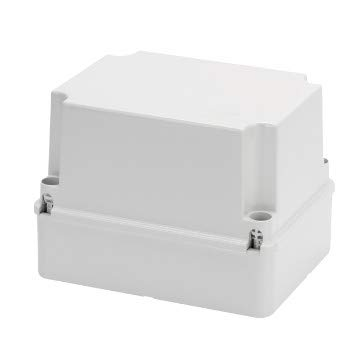 Gewiss Abzweigkasten mit Schraubdeckel IP56 Abmessungen 240 x 190 x 160 mm Wände Lisce GW44218