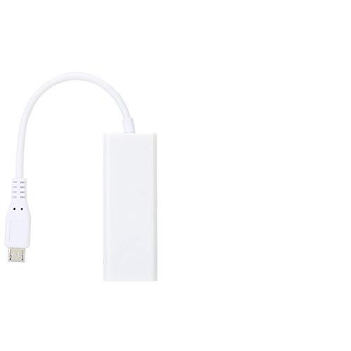 Adaptador de Red, Adaptador con Cable USB Accesorios de Red Ethernet LAN...