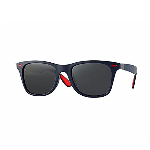Gafas duraderas Mujeres polarizadas Gafas de Sol Hombres Mujeres Marca Design Distribuidor Sombras Masculino Vintage Gafas de Sol Hombres Mirror Sembre Verano (Lenses Color : 04)