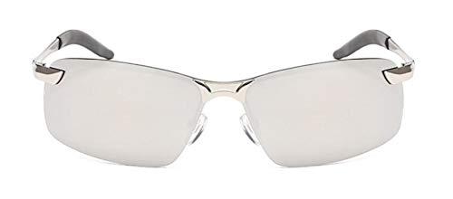 Secuos Moda Diseño De Marca Gafas De Sol Polarizadas Piloto Hombres Revestimiento Rectangular Conducción Gafas De Primavera Espejo Deporte Gafas De Sol Uv400 Rojo