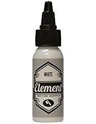 Element Tattoo Supply White Tattoo Ink 1 Ounce Bottle