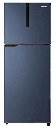 Panasonic Econavi 307 L 3 Star 6-Stage Inverter Frost-Free Double Door Refrigerator (NR-BG313VDA3, Deep Ocean Blue, Powered by Artificial Intelligence)