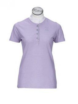PIKEUR Damen-Turniershirt mit 1/2 Arm, flieder, 36