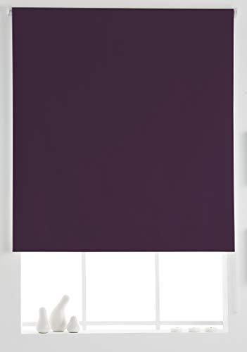 Estoralis Dracarys Estor Enrollable Opaco Black out Liso, Violeta, 110 x 230 cm