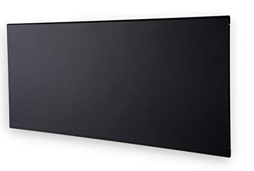 ADAX Neo - Convector de Pared con termostato por WiFi, bajo Consumo, 330 mm de Altura, 600 W, Color Negro