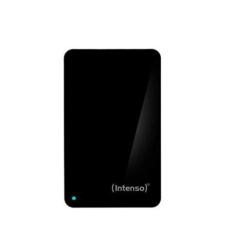 Intenso Memory Hülle 1 TB Externe Festplatte (6,35 cm (2,5 Zoll) 5400 U/min, 8 MB Cache, USB 3.0) schwarz