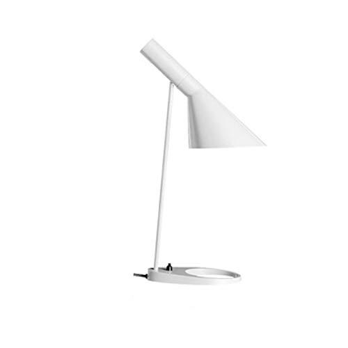FHUA Lámpara Escritorio Lámpara Nordic Creative Hierro Forjado Dormitorio Moderno Lámpara de Cama de Lectura Escritorio de Lectura Lámpara de Mesa
