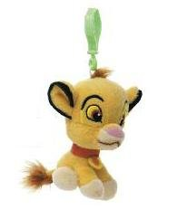 Disney Contes animaux sac Clips – 10,2 cm en peluche Simba