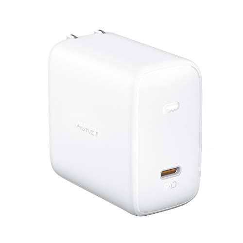 AUKEY AUKEY(オーキー) USB充電器 Omnia 100W USB-C ホワイト PA-B5-WT [1ポート /USB Power Delivery対応 /GaN(窒化ガリウム) 採用]