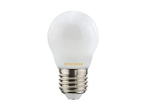 Sylvania Toledo 0027259 Rétro Boule Lampe LED, verre, Home, E27, 4 Watts