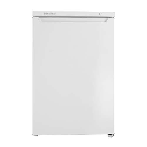 Hisense FV105D4AW2 - Congelador Vertical, clase A++, 82 l capacidad neta, 84.5cm alto, bajo encimera, puerta reversible, 4 estrellas en el congelador, silencioso, color blanco