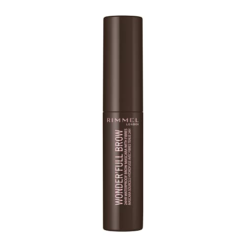 Rimmel Wonder'full 24Hr Brow Mascara 4.5ml, oscuro