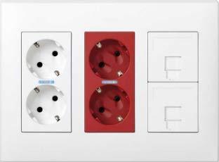 Simon 51000302 – 030-kit werkplek 3 mód. Blanco roestvrij staal