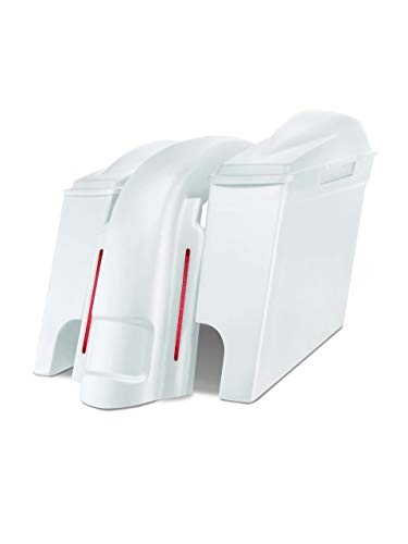 Best Deals! Harley Davidson 6 extended stretched saddlebags and Replacement LED fender for 98-08 to...