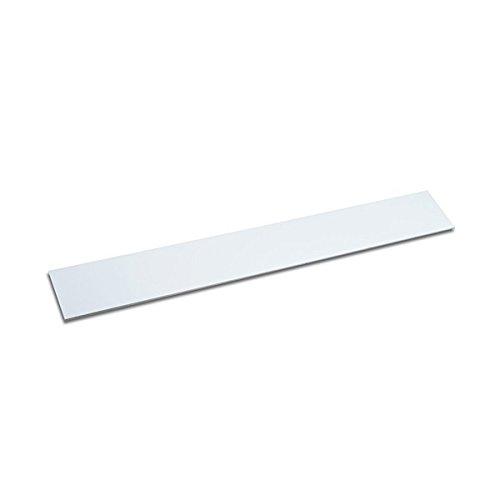 Metalleiste selbstklebend, 300 x 40 mm, weiß, Haftgrund für Magnete, individuelles Magnetboard