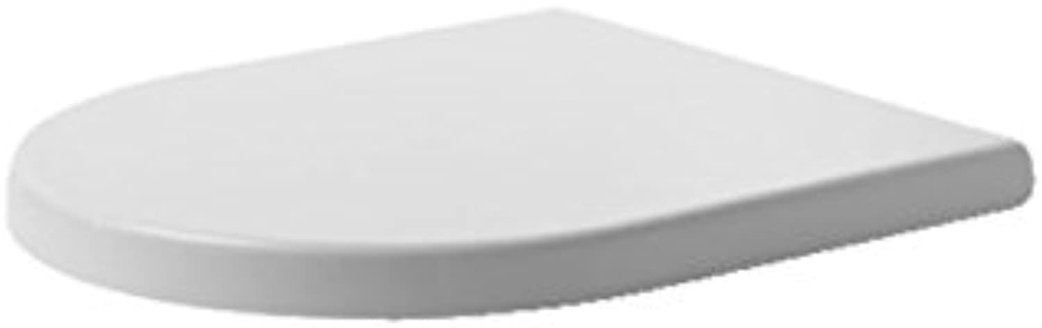 Duravit Starck 3?0067710000?Toilet Seat Soft Close Hinges Stainless Steel for 210409?White