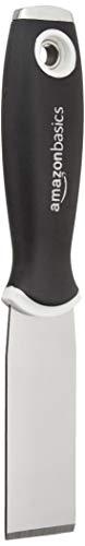 Amazon Basics - Cincel de 31.75 mm, agarre suave, espátula de acero al carbono con punta de martillo