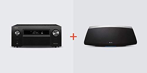 Denon AVR-X8500H Home Theater + HEOS 7 Wireless Speaker (Black) Bundle