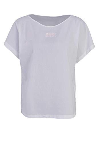 Drykorn Kurzarm Blusenshirt SOMIA Rundhals Oversize weiß Größe XS