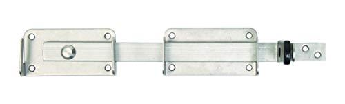 GAH-Alberts 326012 Doppeltorüberwurf, links und rechts verwendbar, Edelstahl, kugelgestrahlt, 327 x 60 mm
