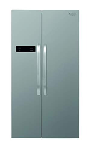 Hotpoint SXBHAE 920 Freestanding 510L A+ Silver side-by-side refrigerator - Side-By-Side Fridge-Freezers (Freestanding, Silver, American door, LED, 510 L, N-ST)