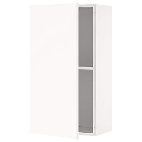 KNOXHULT armario de pared con puerta 40x31x75 cm blanco