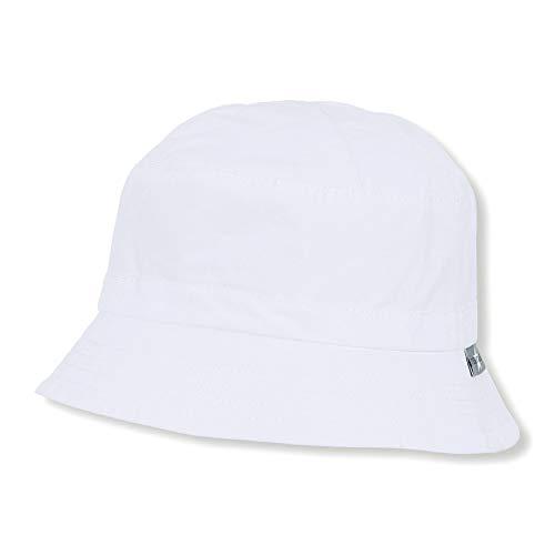 Sterntaler Mädchen Hut Mütze, Weiß (Weiss 500), Medium (Herstellergröße: 53)